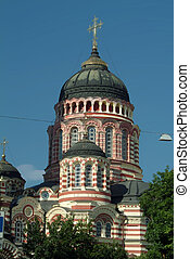 Blagoveshensky cathedral in Kharkov, Ukraine - Orthodox...
