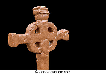 Celtic cross isolated