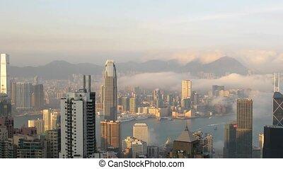 Time lapse Hong Kong
