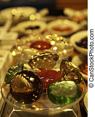 Jewelry and precious stones are the symbol of prosperity,...
