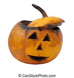Old helloween pumpkin