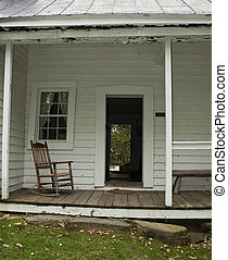 Farm House Front Porch - Come relax on the old farm porch.