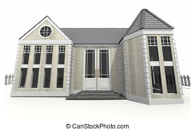 New Home 3d Image