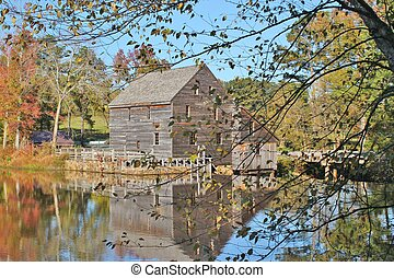 Yates Mill in Raleigh NC - Historical Yates Mill, a restored...