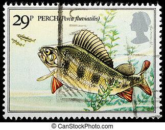 Postage Stamp - UNITED KINGDOM - CIRCA 1982 : A British Used...