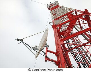 Metalic tower - Telecomunication tower with comunicastion...