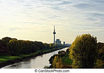 Mannheim before sundown