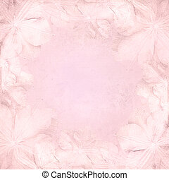 Grunge pink wedding background