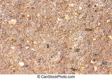 Grainy colored concrete texture close up view