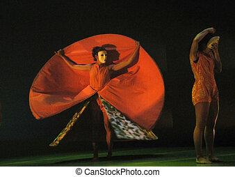 dança, desempenho