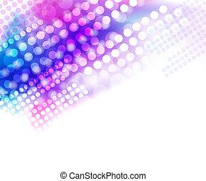Multicolored glittering background