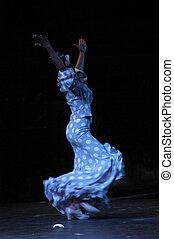 women dancing flamenco