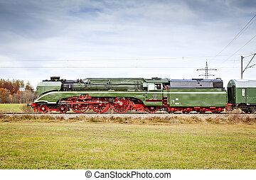 stream train - An image of the fastest steam train 18 210