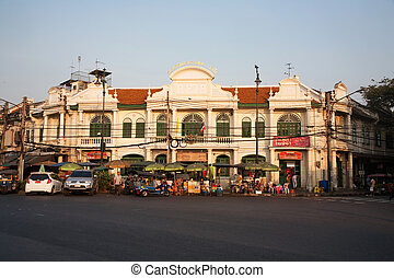 building from last century in good condition, downtown...