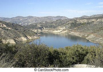 Beznar swamp, in the province of Granada
