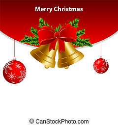 Christmas card - Vector christmas greeting card