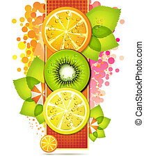 Fruits slices