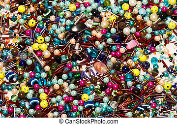 A backgruond of all sorts of jewelery peaces