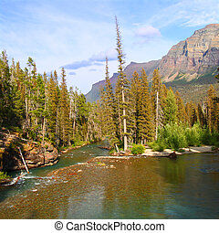 Saint Mary Creek - Glacier NP