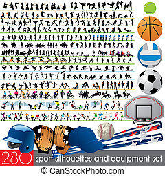 280 sport silhouettes and equipment