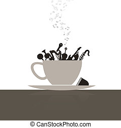 Musical cup