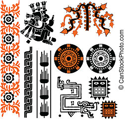 Ancient american patterns