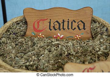 sciatica, herbs