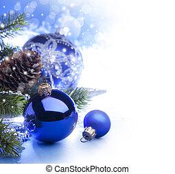 arte, Natal, Saudação, cartão