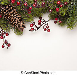 arte, navidad, saludo, tarjeta