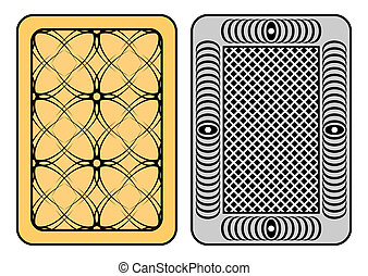 Design of cards - Design of playing cards Two playing cards...