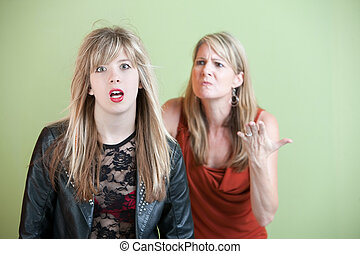 Unhappy Mother - Mom upset over daughters inappropriate...