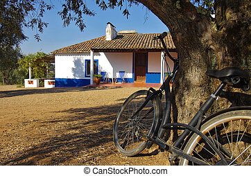 Rural House and Bike
