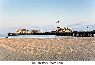 scenic pier in Santa Barbara