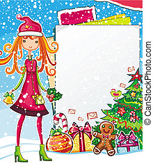 Christmas shopping theme 2 - Christmas shopping theme:...
