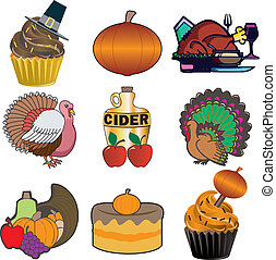 Thanksgiving Icons 3