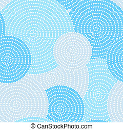 Seamless circle dots - Japanese seamless circle dots pattern...
