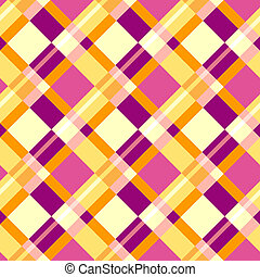 Seamless plaid pattern