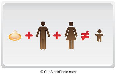 mujer,  -, Ilustración, niño, matemáticas, hombre