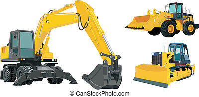 Construction machinery - Technique used in the construction...