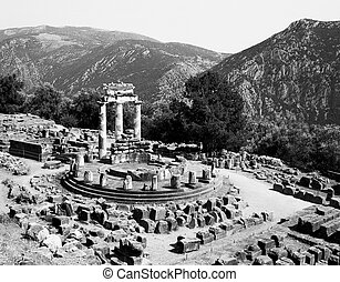Sanctuary of Athena at Delphi
