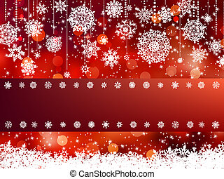 Elegant christmas background EPS 8 vector file included