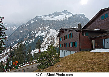 Building of Public Cable car railway Station to Pilatus...
