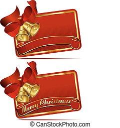 Christmas Bells Web Banner - Merry Christmas Bells website...
