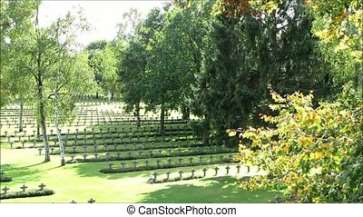 War cemetery in Belgium - Second World War cemetery in...