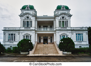 Palace in Cienfuegos city, Cuba - Beautiful palace in...