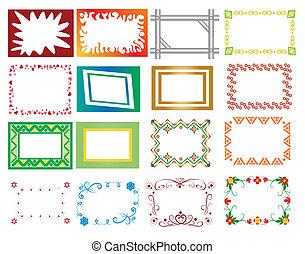 set vector frame