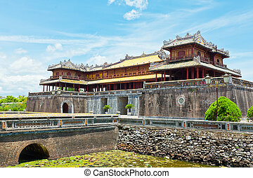 Hue Citadel - Citadel on the Northern bank of the Perfume...