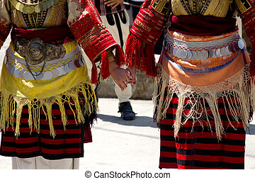 Hand in Hand - Turkish dance - Usual typical performance in...