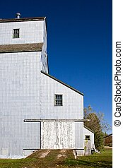 Grain Elevator - Prairie grain elevator at the University of...