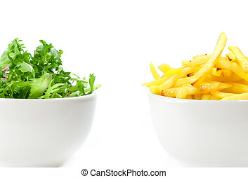 Healthy or unhealthy food